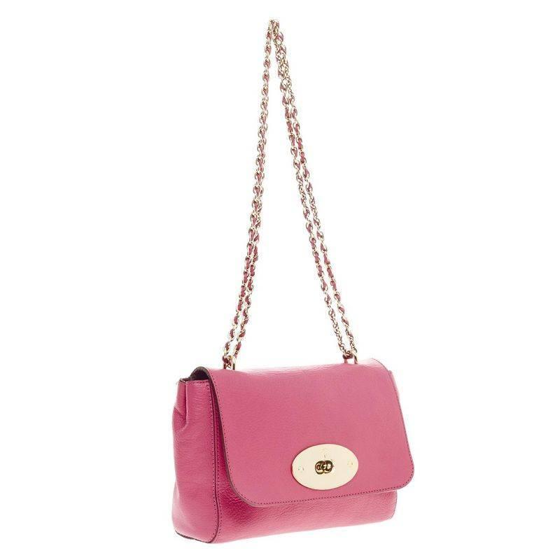 a271645176 Mulberry Lily Chain Flap Leather Small at 1stdibs
