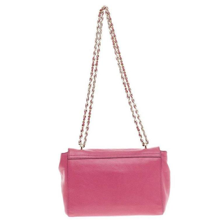 cd76e6becd Women s Mulberry Lily Chain Flap Leather Small For Sale