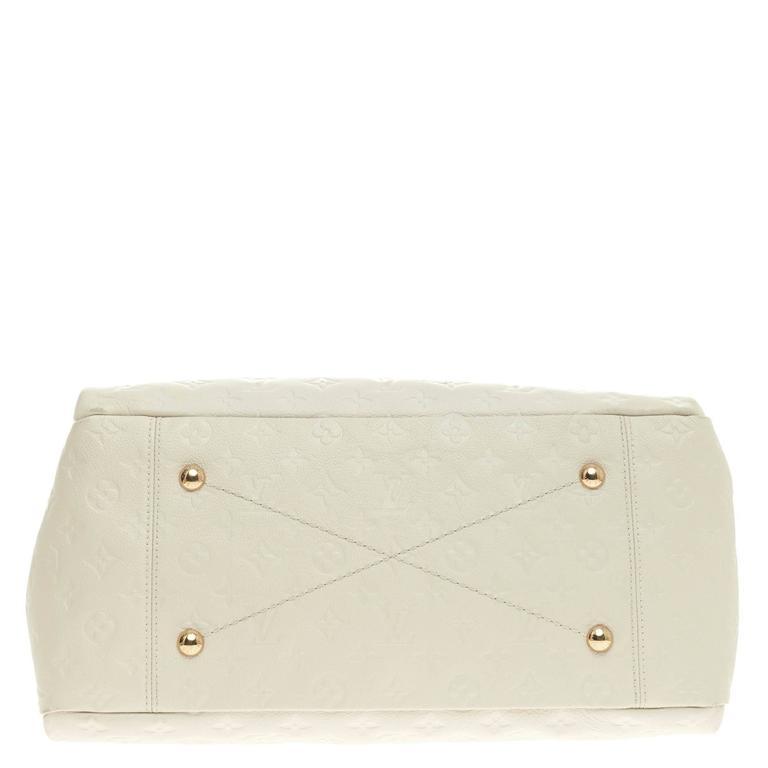 Louis Vuitton Artsy Monogram Empreinte Leather Mm At 1stdibs