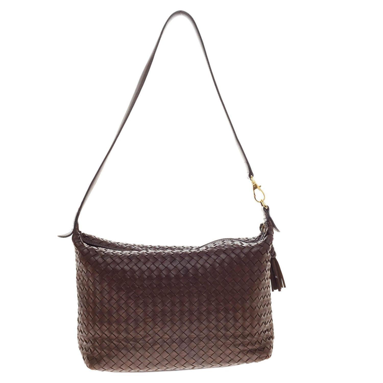 bottega veneta shoulder bag intrecciato nappa medium at
