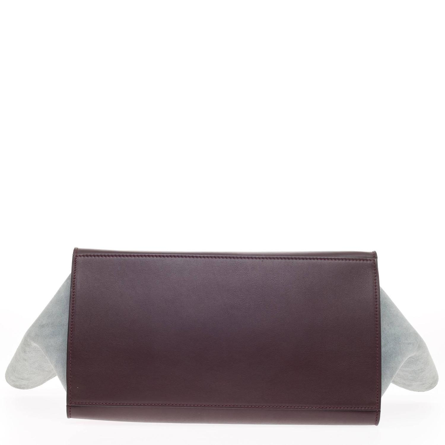 Celine Trapeze Tricolor Leather Medium For Sale at 1stdibs