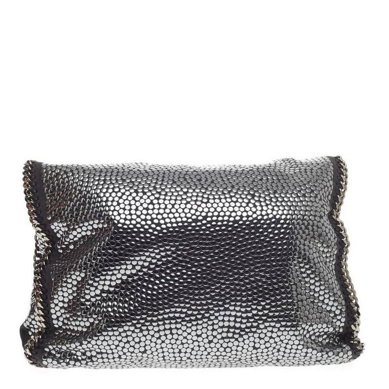 Stella McCartney Falabella Tote Studded Faux Suede Large 4