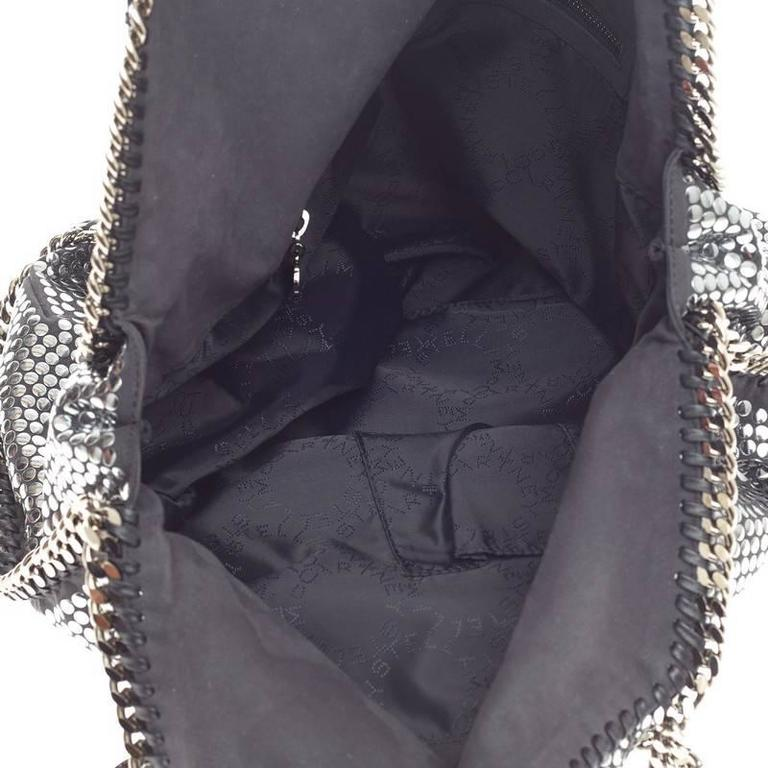 Stella McCartney Falabella Tote Studded Faux Suede Large 6