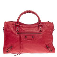 Balenciaga City Classic Studs Leather Medium