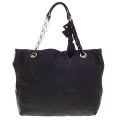 Lanvin Amalia Cabas Tote Leather