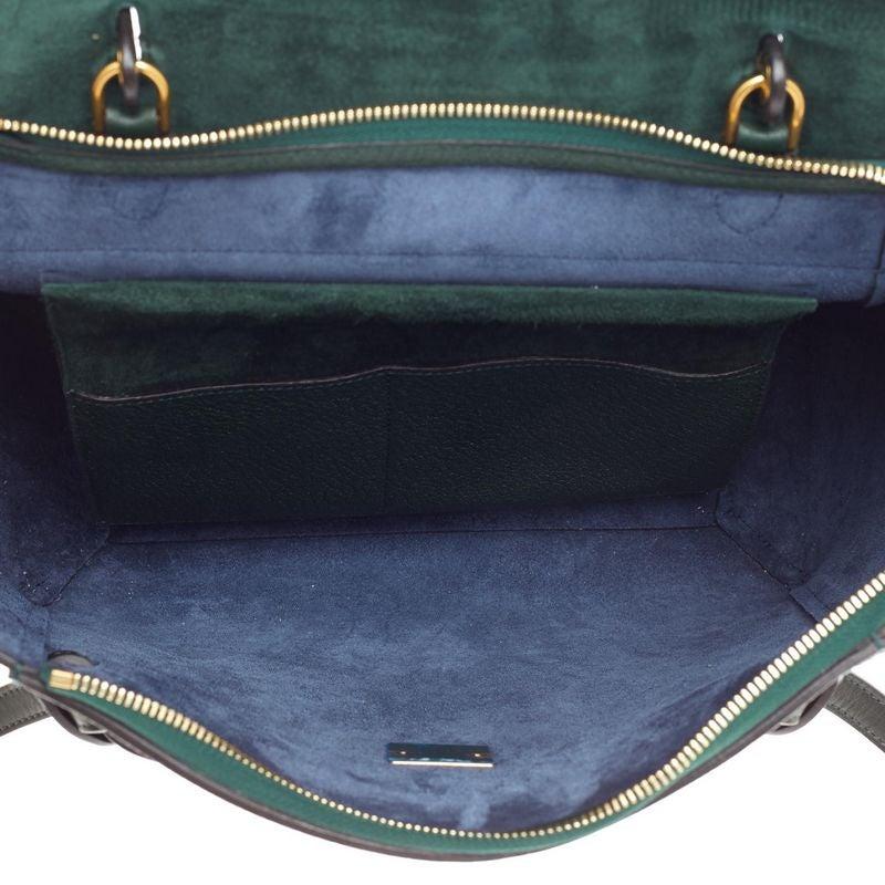 633d184f65e9 Celine Bicolor Belt Bag Leather Mini at 1stdibs