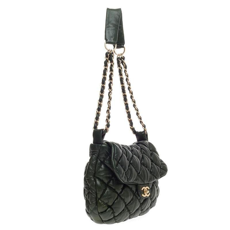 44f20a45e8e5 Chanel Bubble Quilt Flap Bag Lambskin Medium at 1stdibs