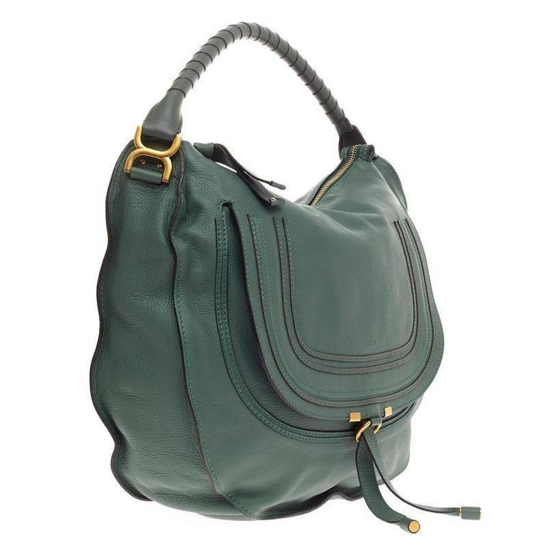 7110e8448 Gray Chloe Marcie Hobo Leather Large For Sale