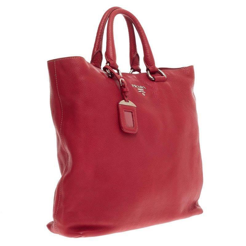 prada hobo bag price - Prada Convertible Tote Vitello Daino Large at 1stdibs