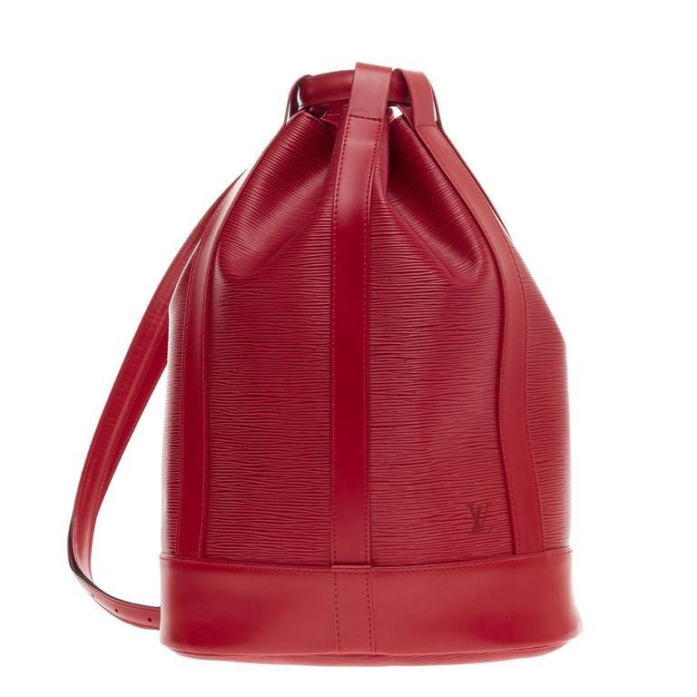 9dfe8c1d55df Louis Vuitton Randonnee Epi Leather PM at 1stdibs