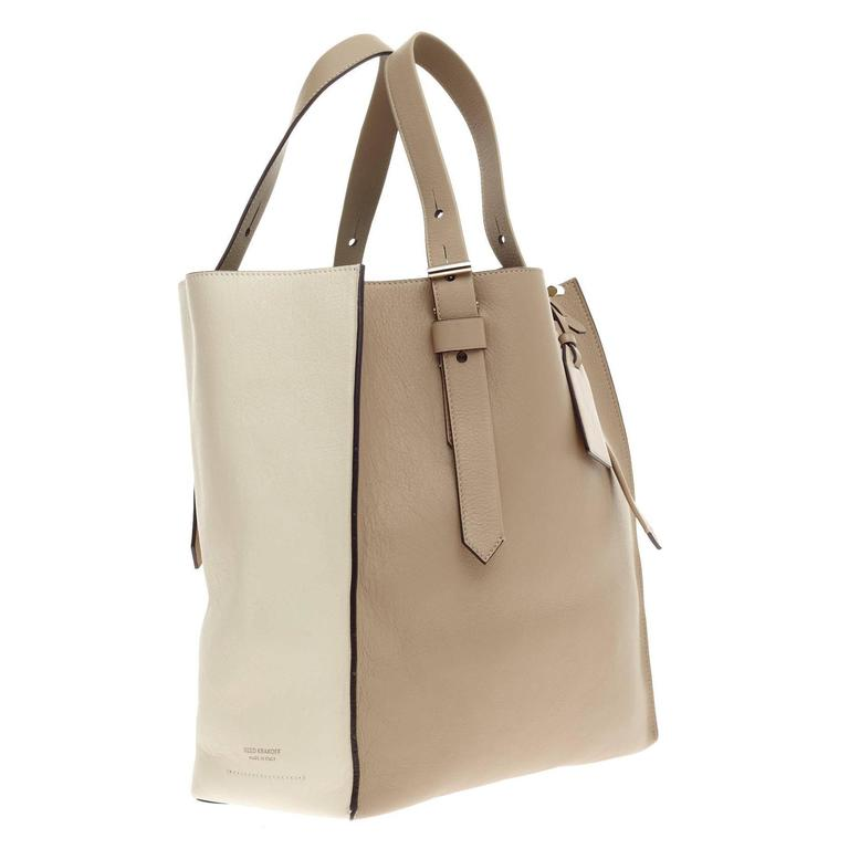 Reed Krakoff Krush Tote Leather In Good Condition In New York, NY