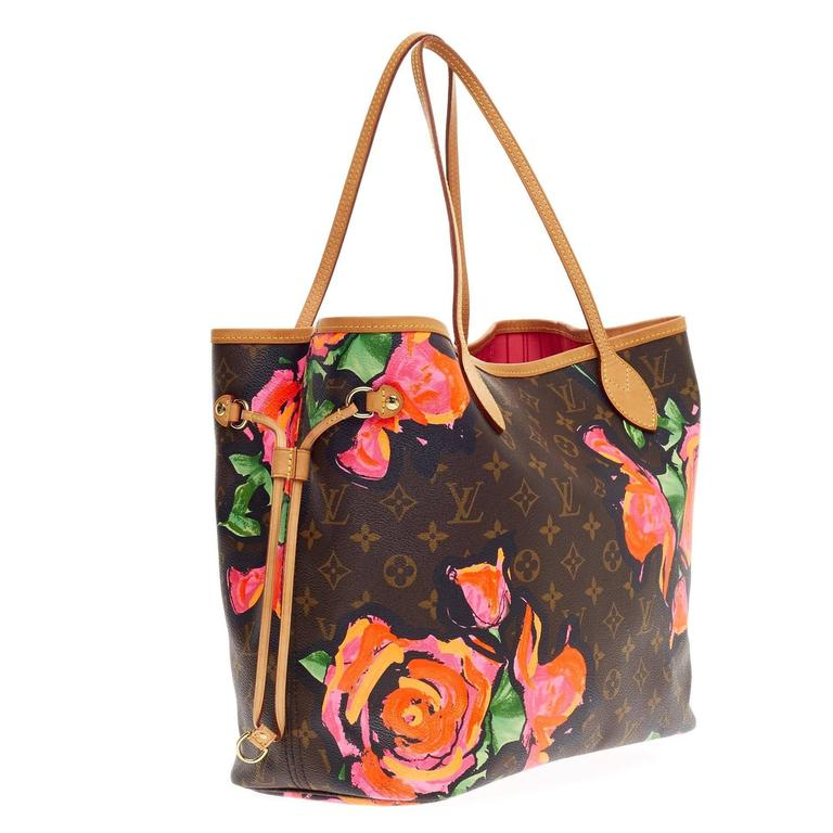 Louis Vuitton Neverfull Limited Edition Monogram Canvas
