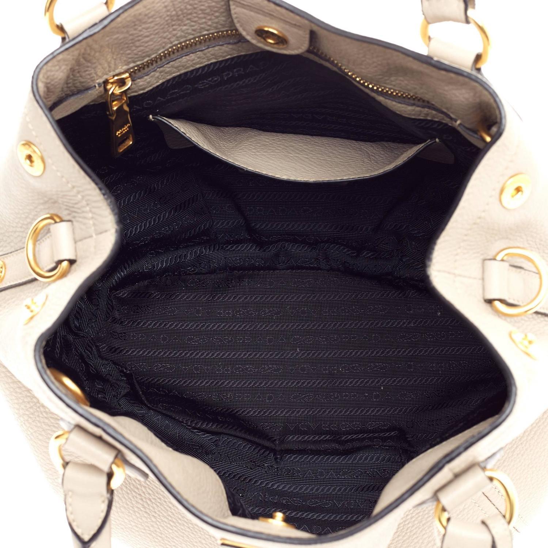 prada blue saffiano tote - prada leather-accented tote, prada on sale handbags