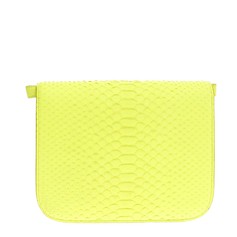 tie bags purses - Celine Box Bag Python Medium at 1stdibs