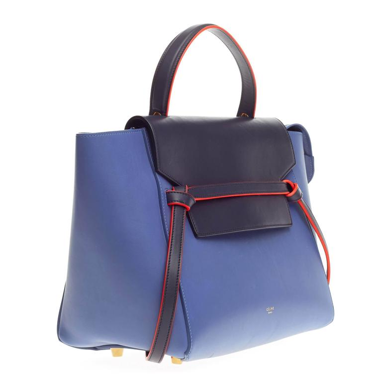 Gray Celine Bicolor Belt Bag Leather Mini For Sale 762eaa5b14