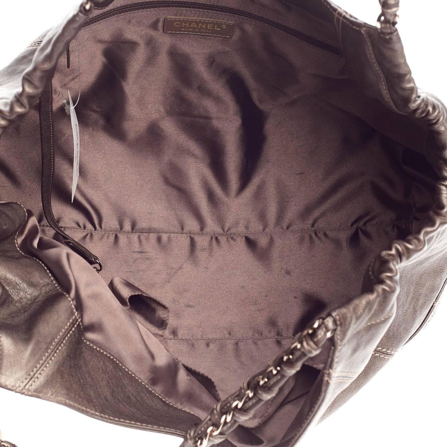 Chanel Coco Cabas Quilted Leather Baby at 1stdibs