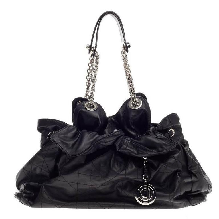 dc5b101243 Christian Dior Le Trente Bag Cannage Quilt Leather at 1stdibs