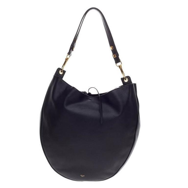 Celine Hobo Leather Large For