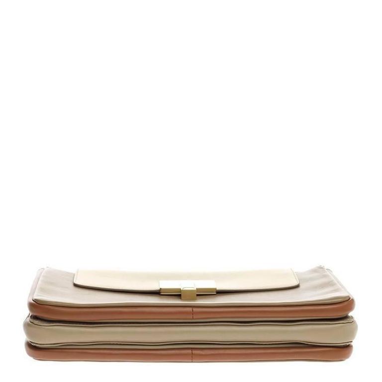 Chloe Lucy Lock Shoulder Bag Leather Medium 5