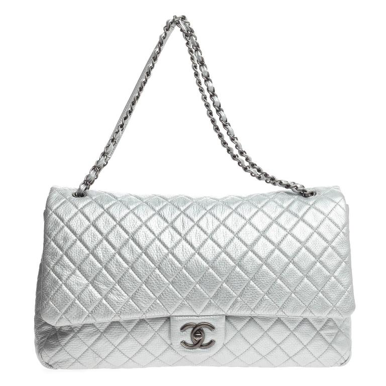 08cd4496e554 Chanel Airlines CC Flap Quilted Calfskin XXL For Sale. This authentic ...