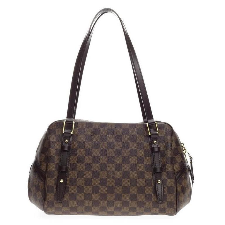 Sac Louis Vuitton Rivington Gm : Louis vuitton rivington satchel damier gm at stdibs