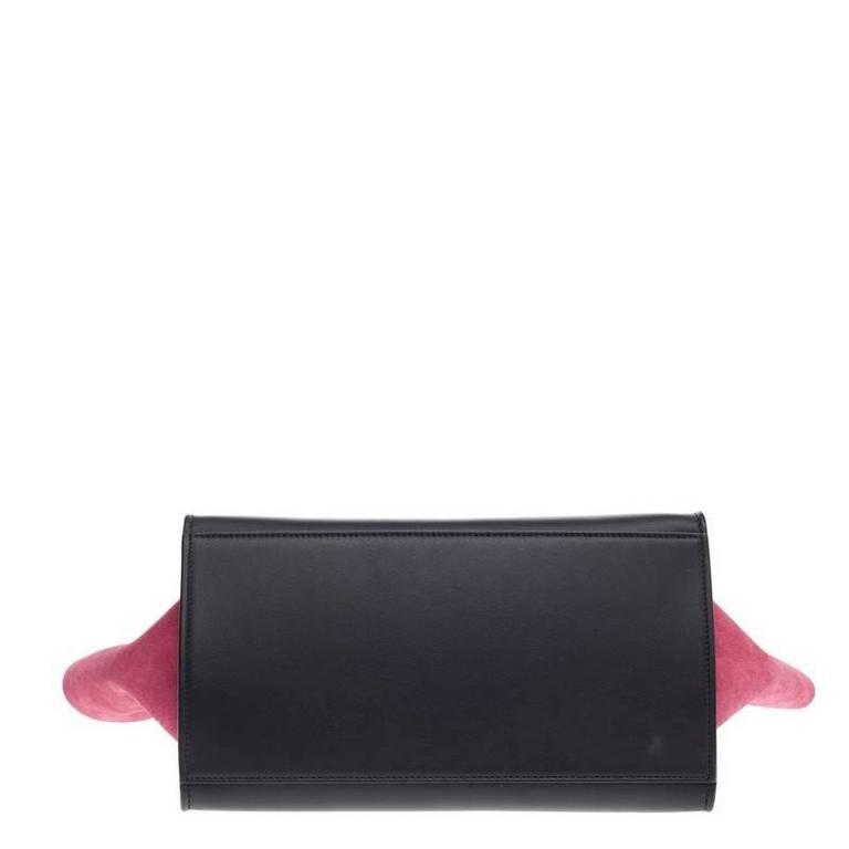 Celine Tricolor Trapeze Leather Small 5