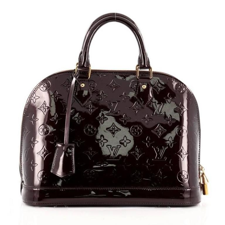 Louis Vuitton Alma Monogram Vernis PM 4