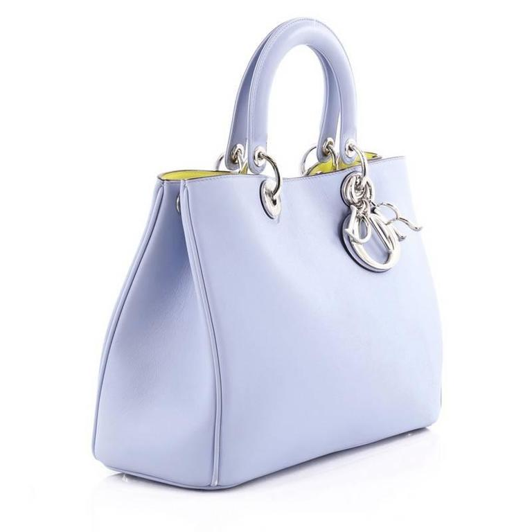 Christian Dior Diorissimo Tote Smooth Calfskin Medium at ...
