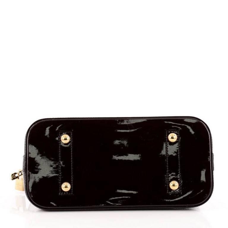 Louis Vuitton Alma Handbag Monogram Vernis PM 5