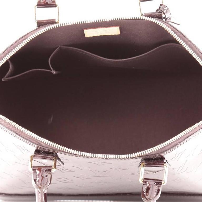 Louis Vuitton Alma Handbag Monogram Vernis PM 6