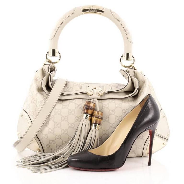3a220bf34f9 Gucci Indy Guccissima Handbag - Style Guru  Fashion