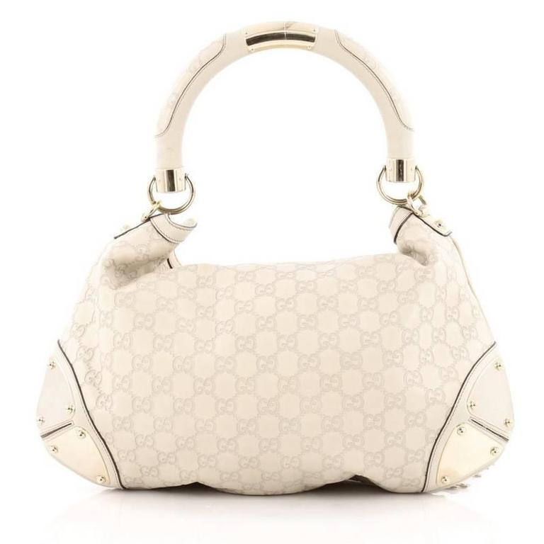 gucci indy hobo guccissima leather large at 1stdibs