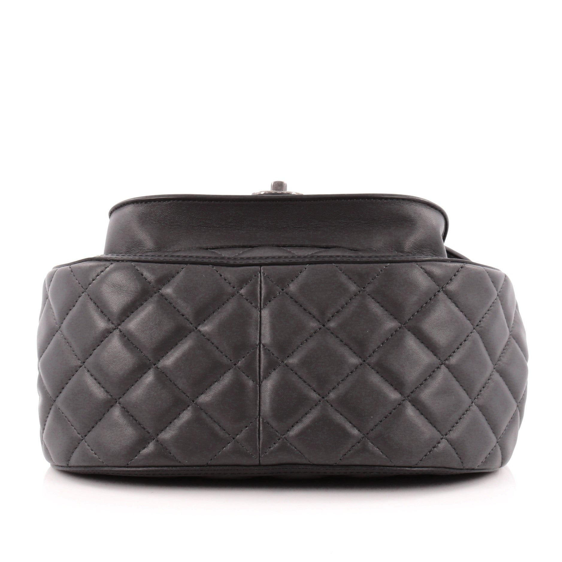 762109fcc3a1 Chanel Saddle Bag Quilted Calfskin and Pony Hair Medium at 1stdibs