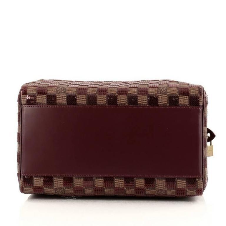 Louis Vuitton Speedy Handbag Damier Paillettes 30 For Sale 1