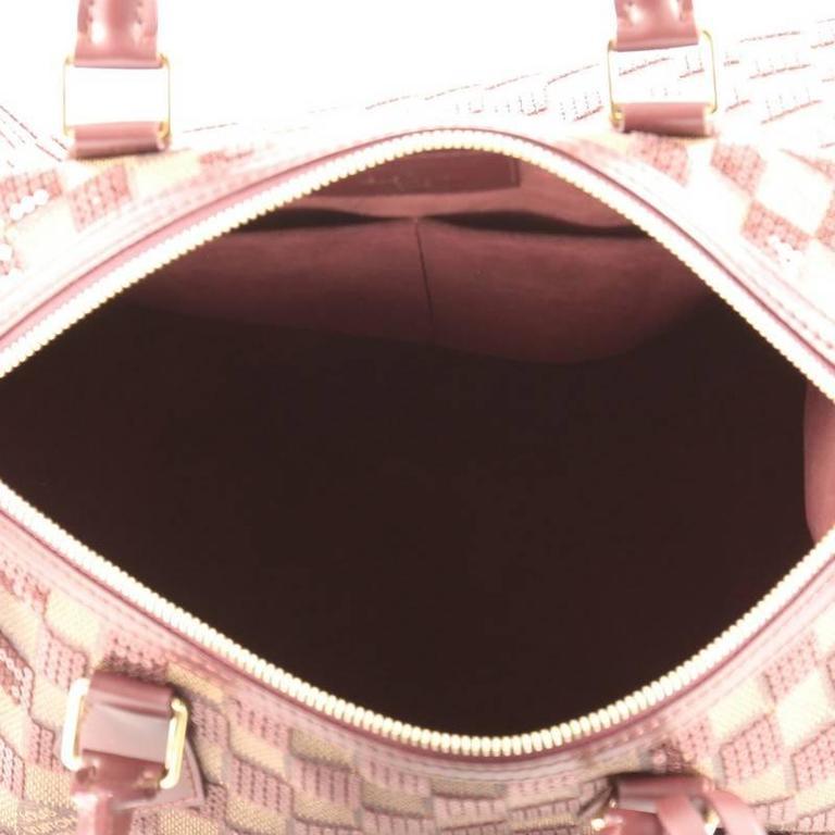 Louis Vuitton Speedy Handbag Damier Paillettes 30 For Sale 2