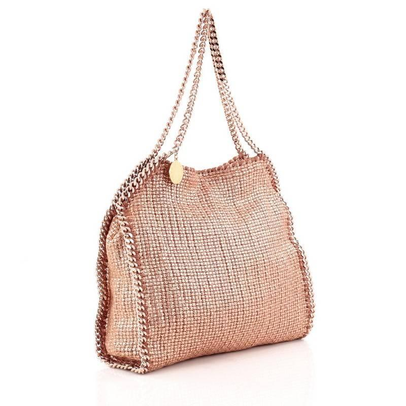stella mccartney falabella tote boucle small for sale at 1stdibs. Black Bedroom Furniture Sets. Home Design Ideas