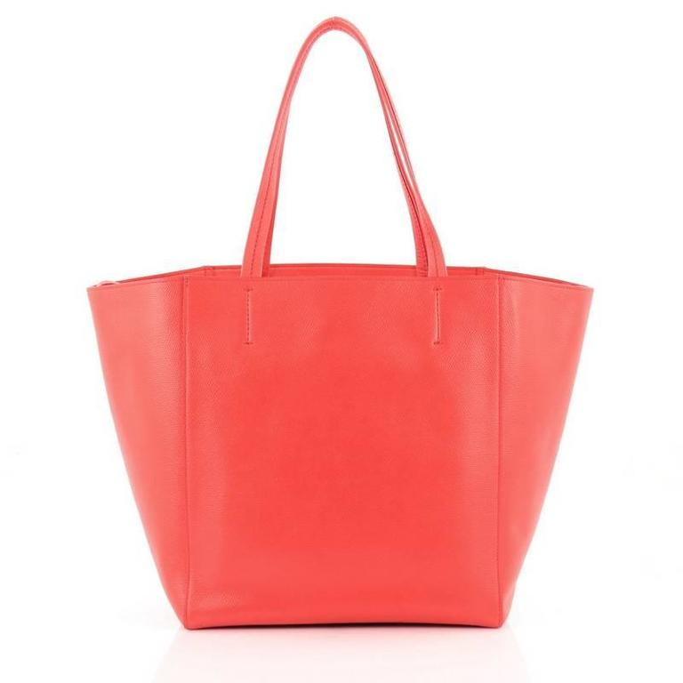 Celine Phantom Cabas Tote Leather Small In Good Condition For Sale In New York, NY