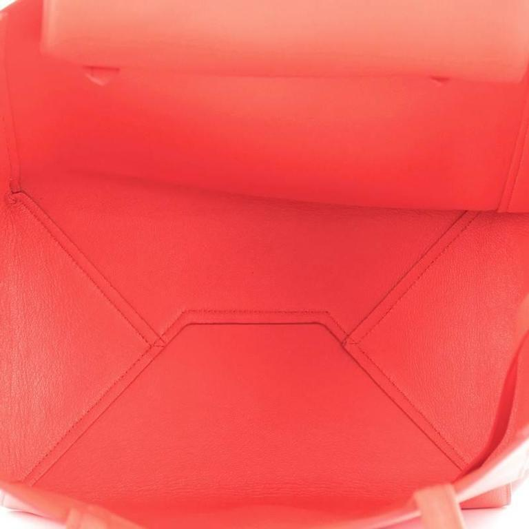 Celine Phantom Cabas Tote Leather Small For Sale 2