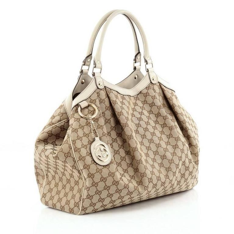 062f344471c Brown gucci sukey tote canvas large for sale jpg 768x768 Large gucci sukey  tote