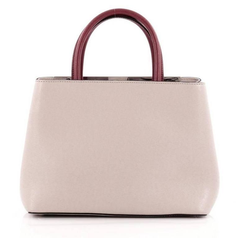 Fendi 2Jours Monster Handbag Calfskin Petite 4