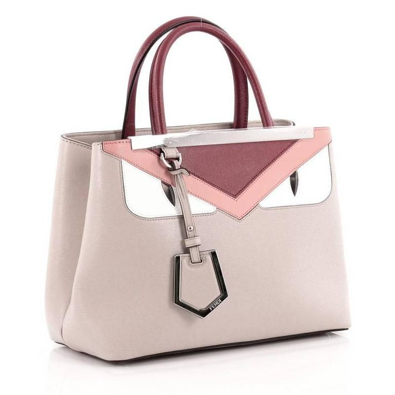 Fendi 2Jours Monster Handbag Calfskin Petite 3