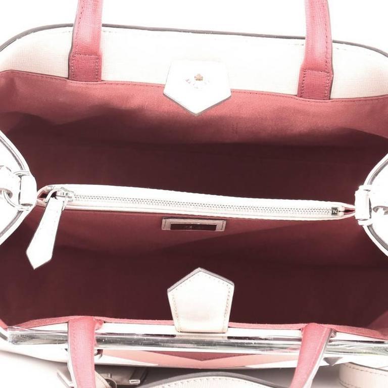 Fendi 2Jours Monster Handbag Calfskin Petite 6