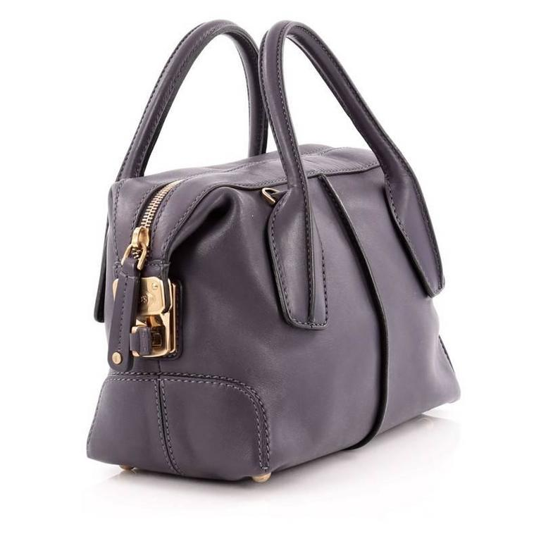 Tod s D-Styling Convertible Bauletto Handbag Leather Mini at 1stdibs 5be99458e163f