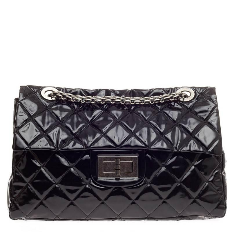 15e76e8f5ad9 Chanel Reissue 2.55 Quilted PVC XXL