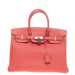 Hermes Candy Birkin Rose Jaipur Epsom and Gold with Gold Hardware 35
