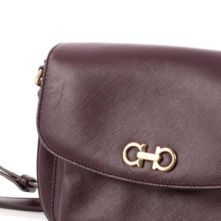 Salvatore Ferragamo Sandrine Shoulder Bag Leather 1