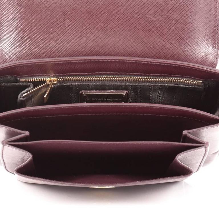 2eda1d6d4b Salvatore Ferragamo Sandrine Shoulder Bag Leather at 1stdibs