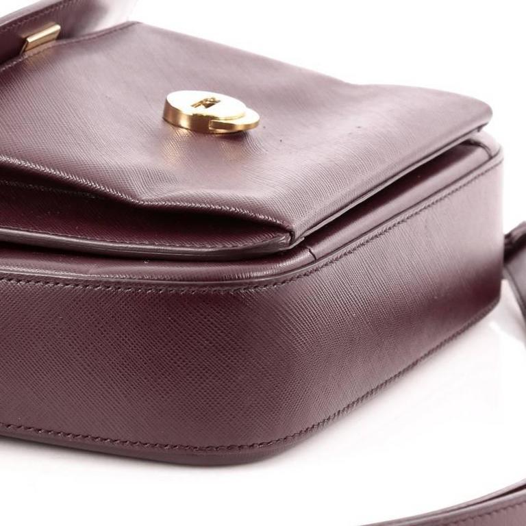 Salvatore Ferragamo Sandrine Shoulder Bag Leather 2