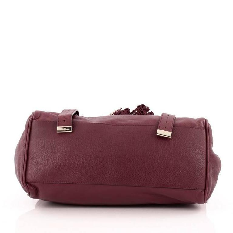 017dd8617b ... promo code womens or mens mulberry alexa tassel satchel studded leather  large for sale e74b3 08d92 ...