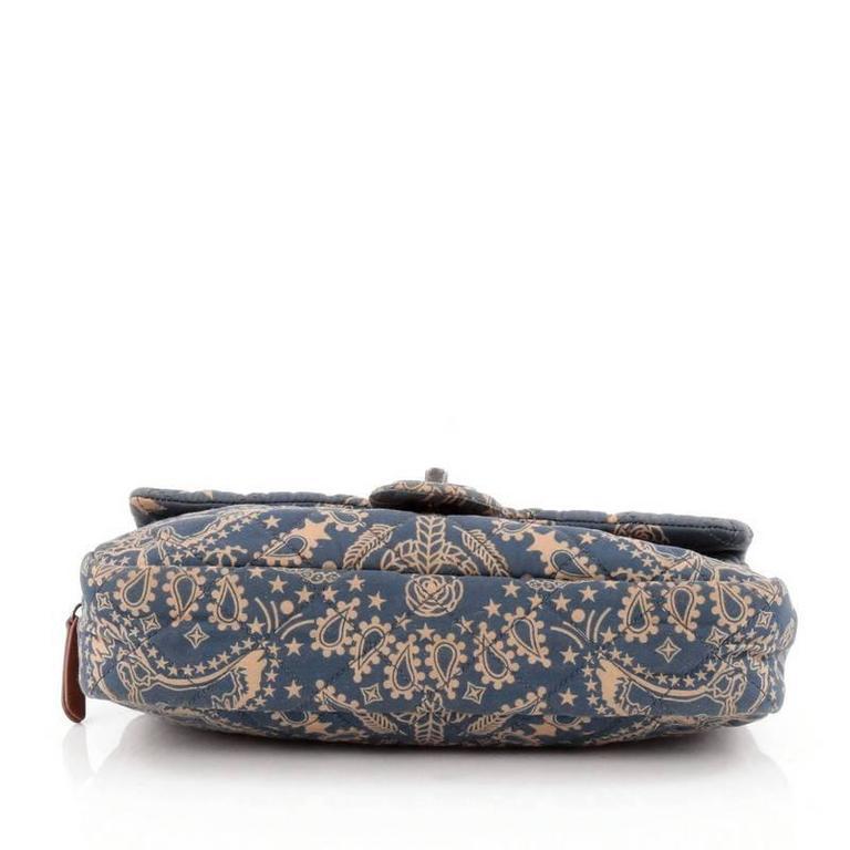 2339b533f05a Chanel Paris-Dallas Bandana Flap Bag Quilted Canvas Medium at 1stdibs